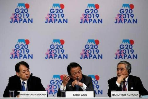 World economic growth to revive later this year, say G-20 chiefs