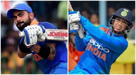 Virat Kohli and Smriti Mandhana are Wisden's Leading Cricketers in the World