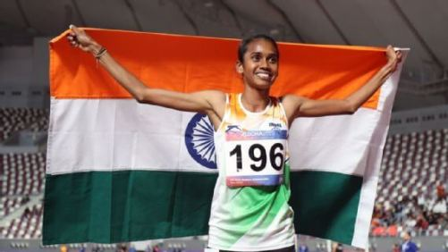 Asian Athletics C'ships: P U Chitra wins gold in Women's 1500m, Dutee Chand clinches bronze