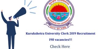 Kurukshetra-University-Recruitment-2019