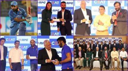 CEAT Cricket Rating Awards: Kohli, Bumrah among winners