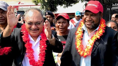 James Marape elected new Papua New Guinea prime minister