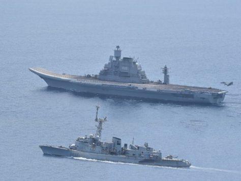 Indo-Myanmar patrolling exercise begins near Andaman coast