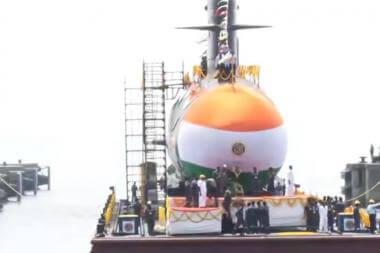 Launch of Fourth Scorpene Class Submarine – VELA