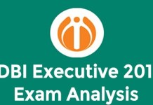 IDBI EXECUTIVE 2019 exam analysis