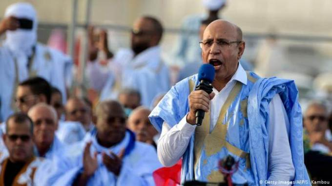Mauritania's Mohamed Ould Ghazouani won the presidential election