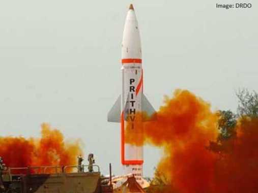 Indigenously developed nuclear-capable missile Prithvi-II test fired successfully