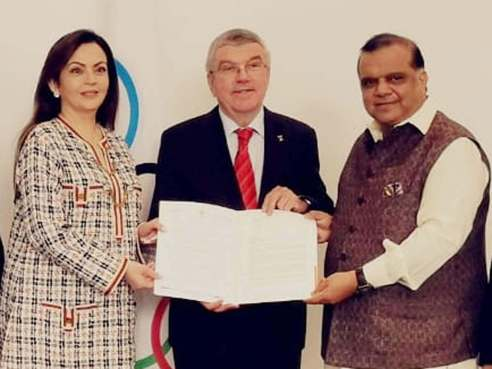 India bids to host 2023 International Olympic Committee (IOC) session