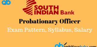 South Indian Bank po salary