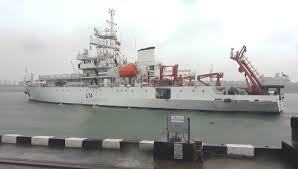 INS Sagardhwani embarks on mission Sagar Maitri