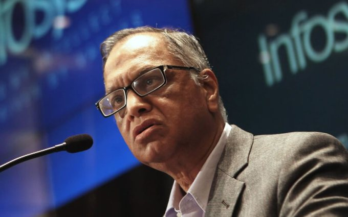 Narayana Murthy awarded honorary doctorate from University of London college