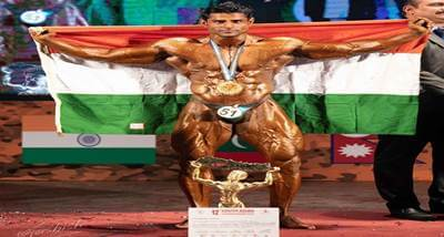 Indian bodybuilder Ravinder Malik clinches Mr South Asia title