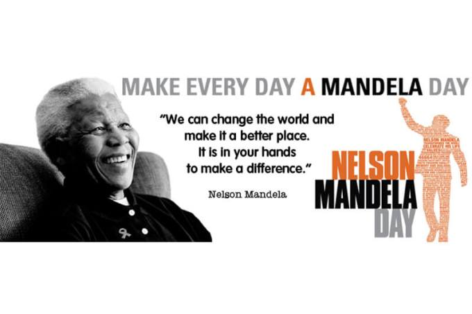 18th July Mandela Day 2019