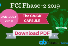 FCI Phase-2 The GK Capsule blog banner