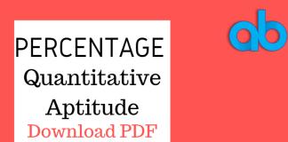 Percentage PDF