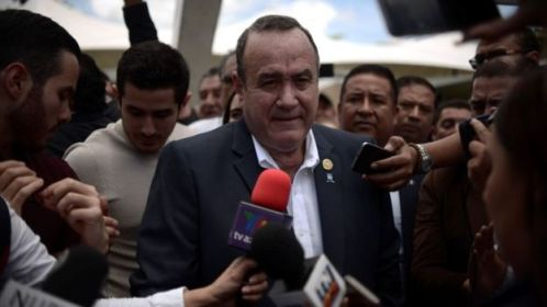 Conservative Giammattei new president of Guatemala