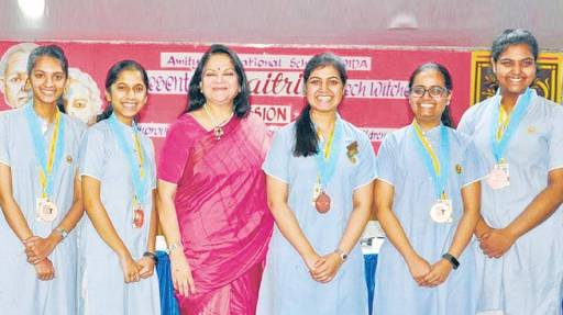 """Indian girls create an app """"Maitri"""" won tech prize in US"""