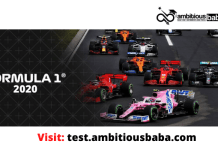 F1 race 2020
