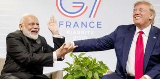 narendra-modi-and-donald-trump-g7-france