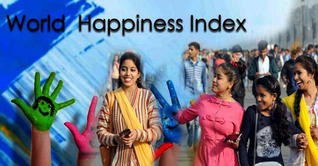 "India 9th on happiness index among 28 nations: ""Global Happiness Survey"""