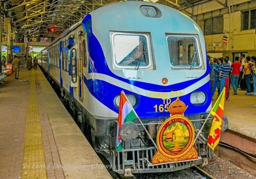 Sri Lanka flags off Pulathisi Express, a 'Make In India' train