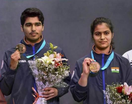 Pistol World Cup: Manu-Saurabh win gold, Yashaswini-Abhishek bag silver