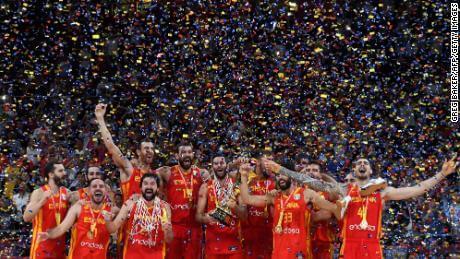 Spain won second FIBA basketball World Cup title