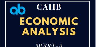 Economic Analysis CAIIB