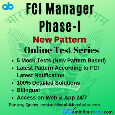 FCI Manager