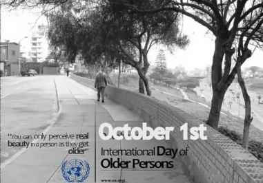 1 October: International Day of Older Persons