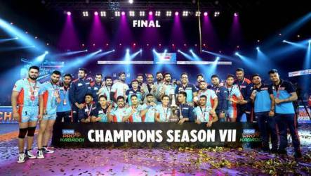 Pro Kabaddi 2019: The Bengal Warriors won