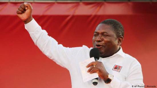 Mozambique: President Filipe Nyusi re-elected in landslide victory