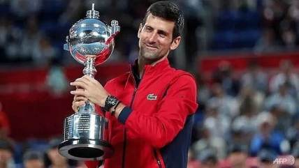 Novak Djokovic downs John Millman to win his first Japan Open title