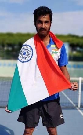 Prithvi Sekhar wins gold in World Deaf Tennis Championship