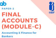 Blog Final Accounts (Module-C)