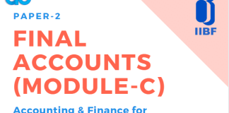 Blog Final Accounts (Module-C)