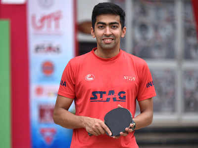Harmeet won Indonesia Open TT Championship
