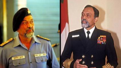Former Indian Navy chief Sushil Kumar passay away