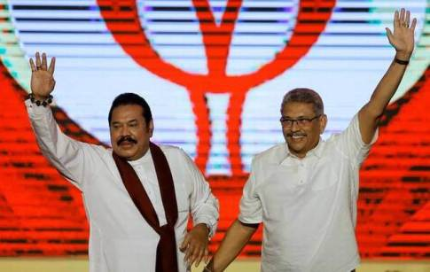 Sri Lankan President Rajapaksa names elder brother Mahinda as PM after Wickremesinghe resigns