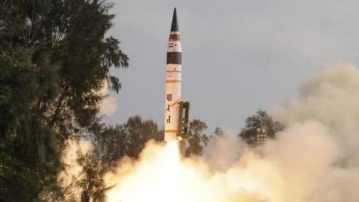 India successfully conducts night trial of 2,000-km range Agni II missile