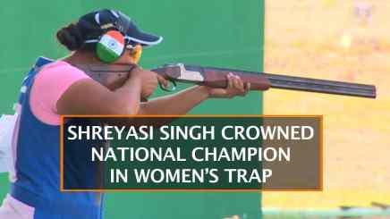 Shreyasi Singh crowned National Champion in Women's Trap