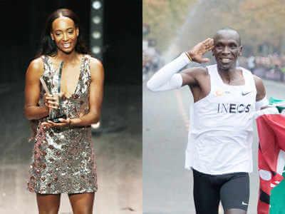 Marathon Man Eliud Kipchoge, Hurdle Heroine Dalilah Muhammad Won Athlete of the Year