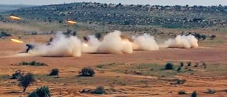 Indian Army conducts 'Sindhu Sudarshan' exercise in Rajasthan's Barmer