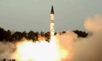 Prithvi-2 missile successfully test fired at night