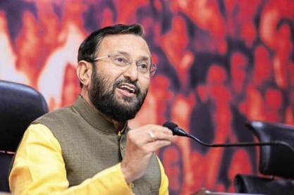 Prakash Javadekar takes charge as Union Minister of Heavy Industries and Public Enterprises