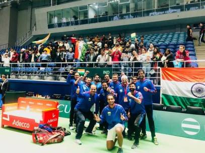 India defeated Pakistan in Davis Cup tie for 2020