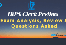 IBPS Clerk Prelims exam analysis