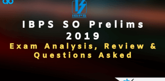 IBPS SO Exam Analysis and Review