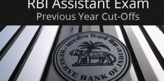 RBI Assistant previous year cutoff
