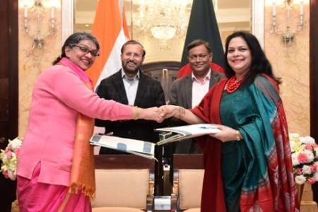 India and Bangladesh ink key agreements in Information & Broadcasting sector